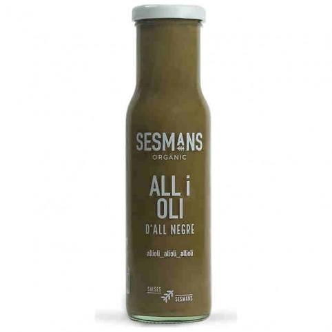 Salsa AliOli Ajo Negro -  Orgánico