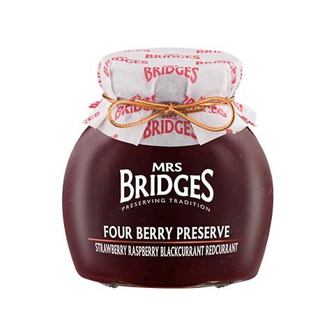 Mermelada 4 FRUTOS ROJOS 340gr - Mr Bridges