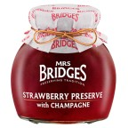Mermelada De Fresas con Champagne 340gr - Mr Bridges