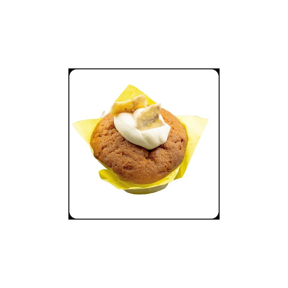 Muffin Masa Madre Banana Y Toffe/160Gr