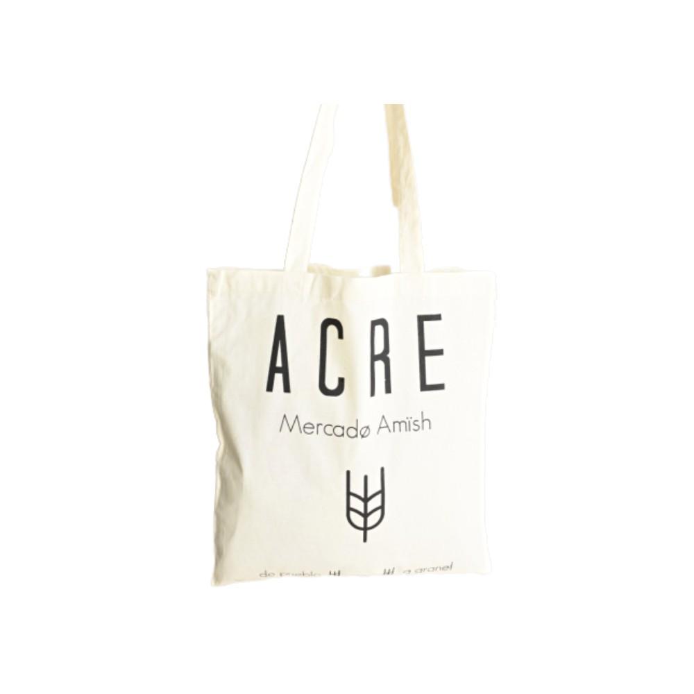 Tote Bag Algodón Orgánico Mercado Acre