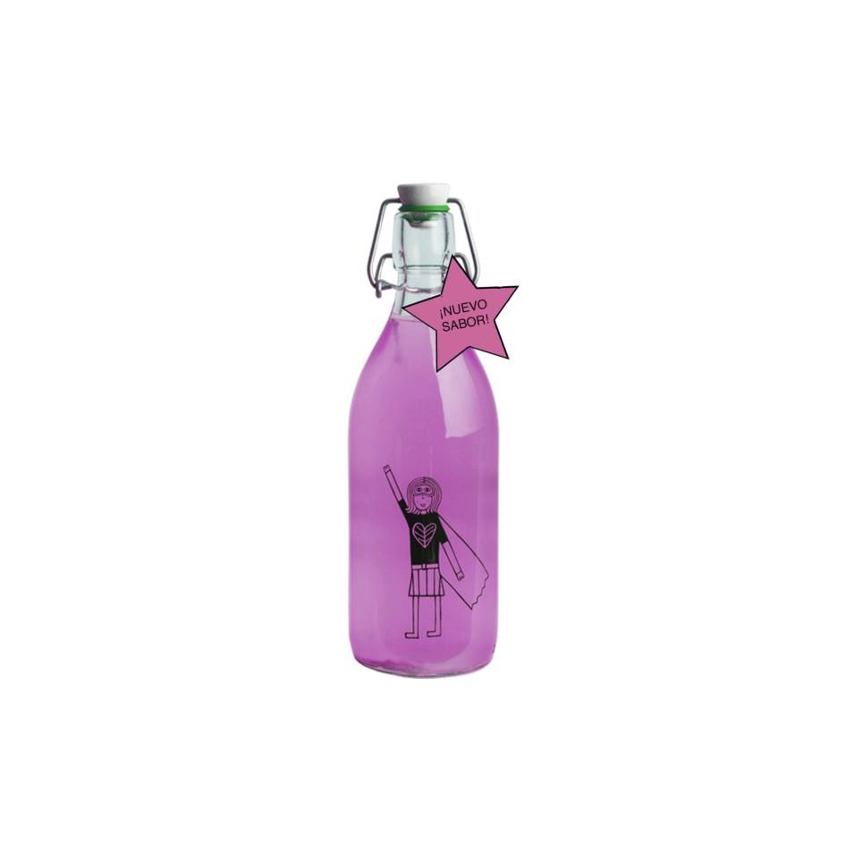 Kombucha La Valiente  Maracuyá /1 Litro/Botella De Cristal Colección