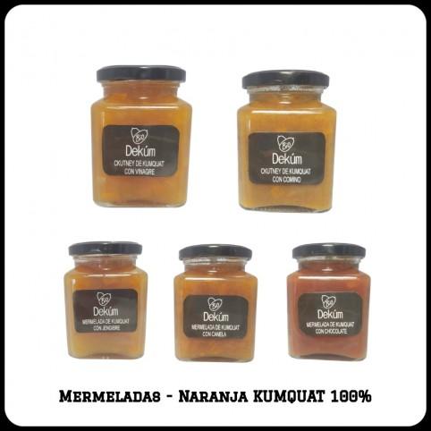 Mermelada BIO - Naranja Kumquat  - Varios sabores