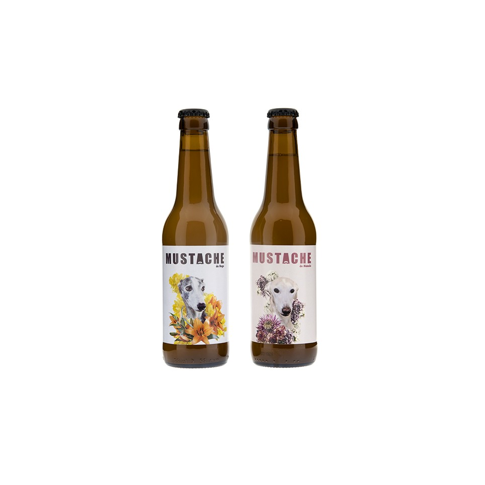 Cerveza Artesana Mustache Hugo&Manolo 33Cl