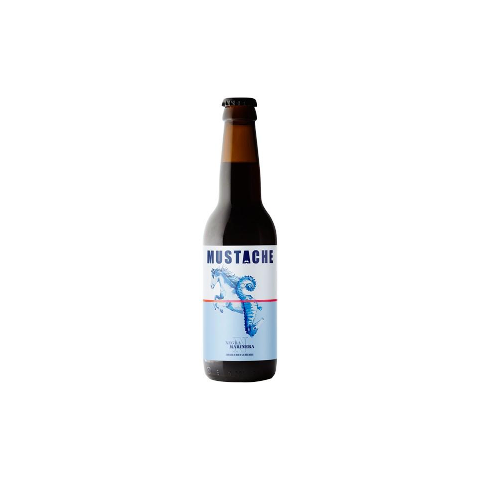 Cerveza Artesana Mustache Negra 33Cl