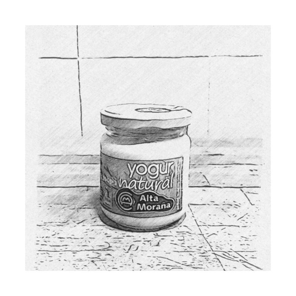 Yogur Natural mezcla Vaca y Oveja 170gr