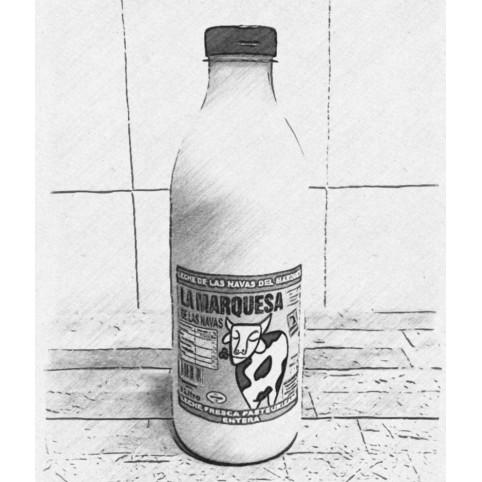 Botella LECHE Fresca
