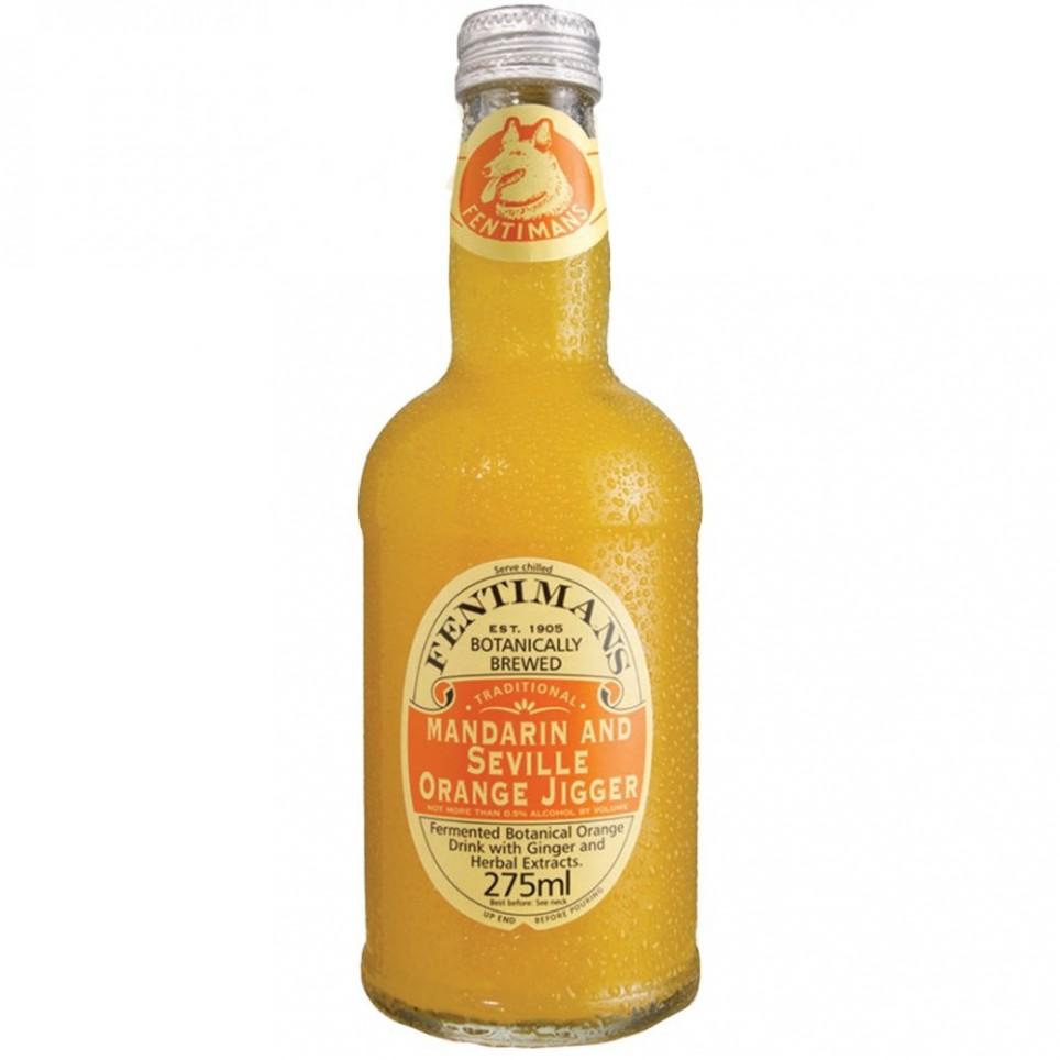 Fentimans Mandarin Seville Orange Jigger  275Ml/Botella De Cristal Colección